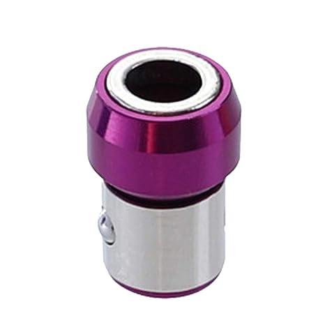 Anillo magnetizado,CHshe💜💜,Broca de destornillador magnética de ...