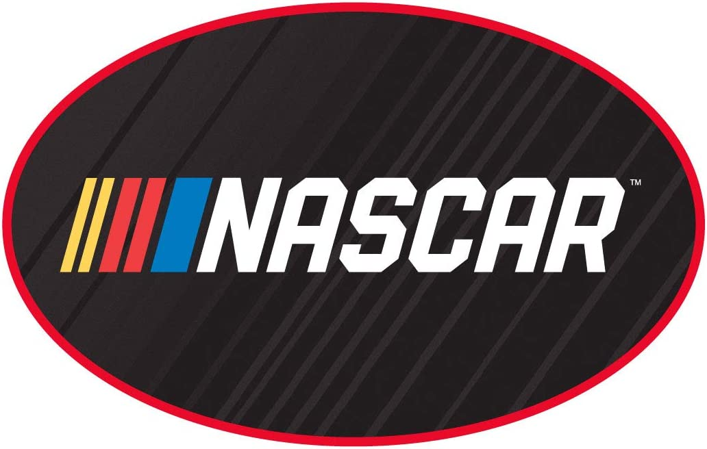 R and R Imports NASCAR Oval Decal Sticker