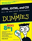 img - for HTML, XHTML, and CSS All-in-One Desk Reference For Dummies by Andy Harris (2008-05-05) book / textbook / text book