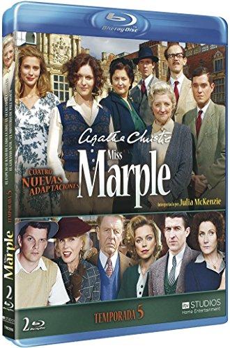 Agatha Christie's Miss Marple Adaptations - Season 5 (4 Films) - 2-Disc Set ( Marple: The Mirror Crack'd from Side to Side / Marple: The Secret of Chimneys / Marp [ Blu-Ray, Reg.A/B/C Import - Spain ]