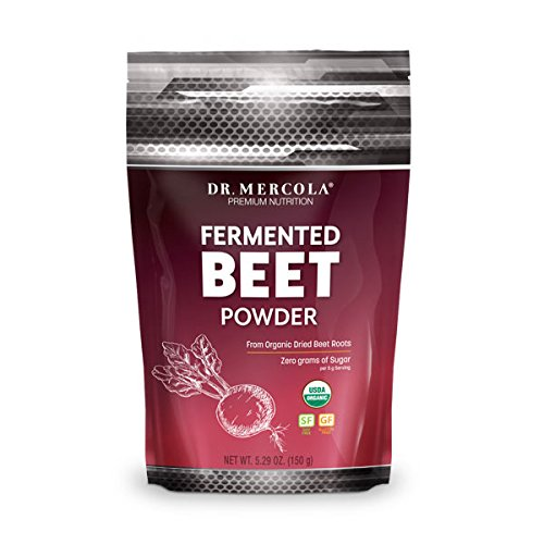 Dr. Mercola Fermented Beet Powder - 5.29oz