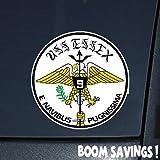 """US Navy Aircraft Carrier USS Essex (CV 9) () 6"""" Decal Sticker"""