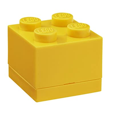 LEGO Mini Box 4 Bright Yellow: Room Copenhagen: Toys & Games