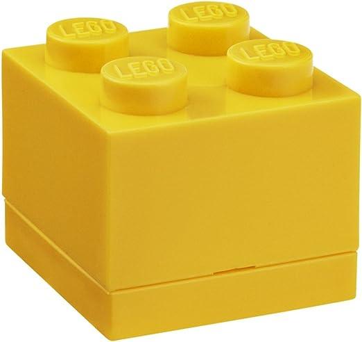 LEGO - Mini Caja de Almuerzo 4, Color Amarillo (Room Copenhagen A ...