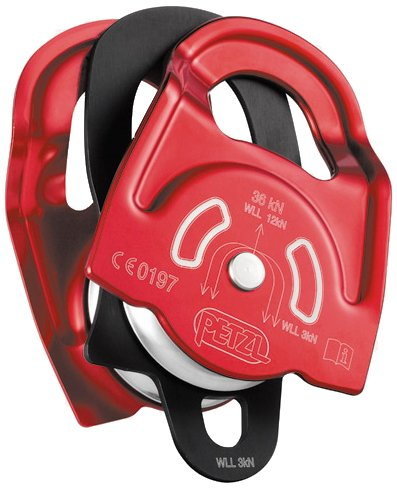 (PETZL - Twin, High Strength, Very High Efficiency Double Prusik Pulley)