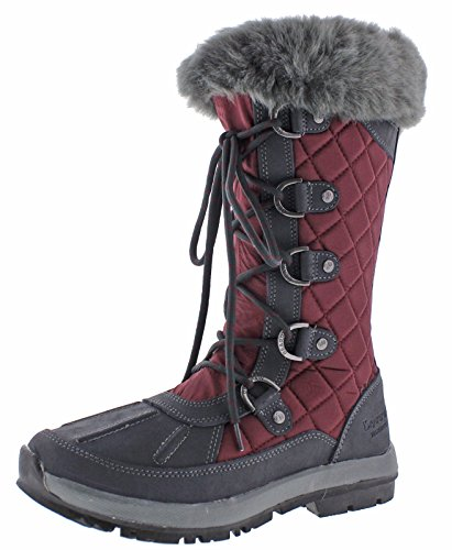 Charcoal Boot Quinevere Waterproof 6 Bearpaw In Snow 12 Womens Bordeaux xZ1S0wqv