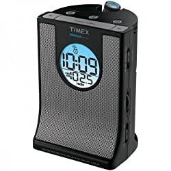Timex T436b Auto Set Alarm Clock Radio With Projection & Nature Sounds (Personal Audio / Clock Radios)