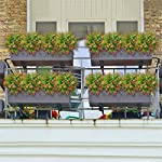 Artificial-Flowers-8-Pack-Fake-Flowers-Outdoor-UV-Resistant-Greenery-Shrubs-Artificial-Plants-Fake-Flowers-Indoor-Outside-Hanging-Planter-Home-Kitchen-Office-Wedding-Garden-Decoration