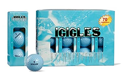 Vgolf Sky Blue Crystal Ball (Pack of 3)