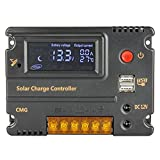 Best Charge Controllers - 20A LCD Solar Panel Battery Regulator Charge Controller Review