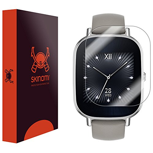 ZenWatch Protector Skinomi TechSkin Anti Bubble