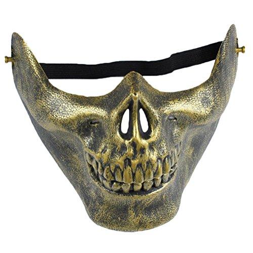Wansan Skull Mask Half Face Corpse Walking Dead