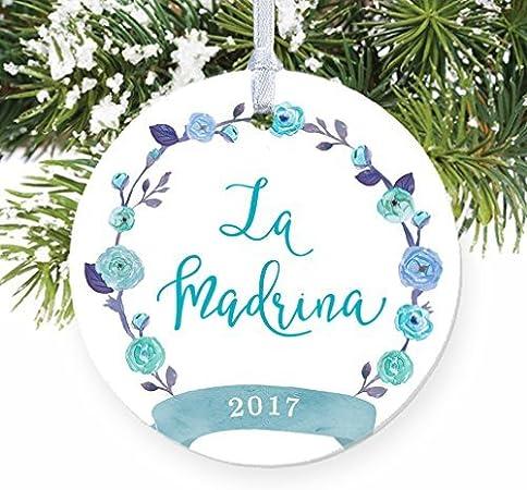 Anniversario Di Matrimonio In Spagnolo.La Madrina Spagnolo Madrina Madrina Battesimo Regalo Di Natale