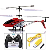 Syma S107 S107G 3.5CH Mini Metal Infrared Remote Control RC Helicopter with Gyro red