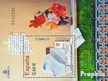 Prophila Collection España Bloque 166 (Completa.edición.) 2008 Europa: el Carta (Sellos para los coleccionistas): Amazon.es: Juguetes y juegos