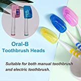 20 Pack Travel Toothbrush Head Covers, V-TOP