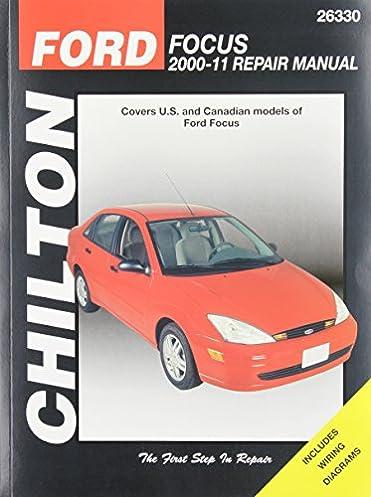 chilton total car care ford focus 2000 2011 repair manual rh amazon com 2001 Ford Focus Engine Diagram 2001 Ford Focus Parts Diagram