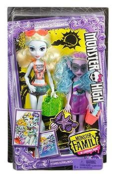 Monster High Monster Family Lagoona Blue & Kelpie Blue Dolls, 2 Pack 7