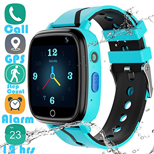 Kids Smartwatch GPS Tracker Gadget - 2019 New Waterproof Children Smart Watches with 1.4