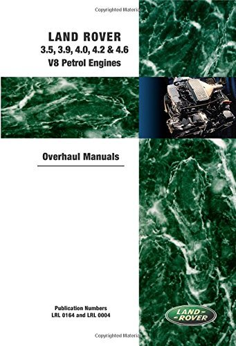 - Land Rover 3.5, 3.9, 4.0, 4.2 & 4.6 V8 Petrol Engine Overhaul Manuals (Workshop Manual Land Rover) by Brooklands Books Ltd (3-May-2006) Paperback