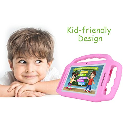 Kids Tablet Android 7.1, 7 Inch, HD Display, Quad Core, Children Tablet, 1GB RAM + 8GB ROM, with WIFI, Dual Camera, Bluetooth, Educational, Multi Touch Screen Kid Mode,With Kickstand … by BENEVE (Image #5)