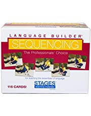 Stages Learning Materials Language Builder Sequencing Flash Cards Photo Action and Self-Help Skills Sequence Cards for Autism Education and ABA Therapy