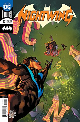 Nightwing (2016) #42 VF/NM Yasmine Putri Variant Cover DC Universe