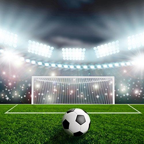 TMOTN 5x7ft Soccer Backdrop Football Photography Background Vinyl