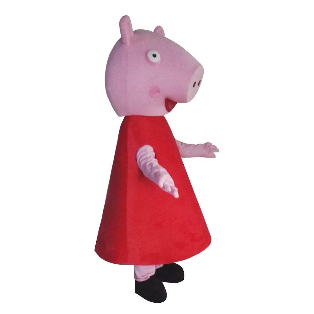 cosplaydiy Unisex disfraz de mascota de Peppa Pig - MS151136c ...