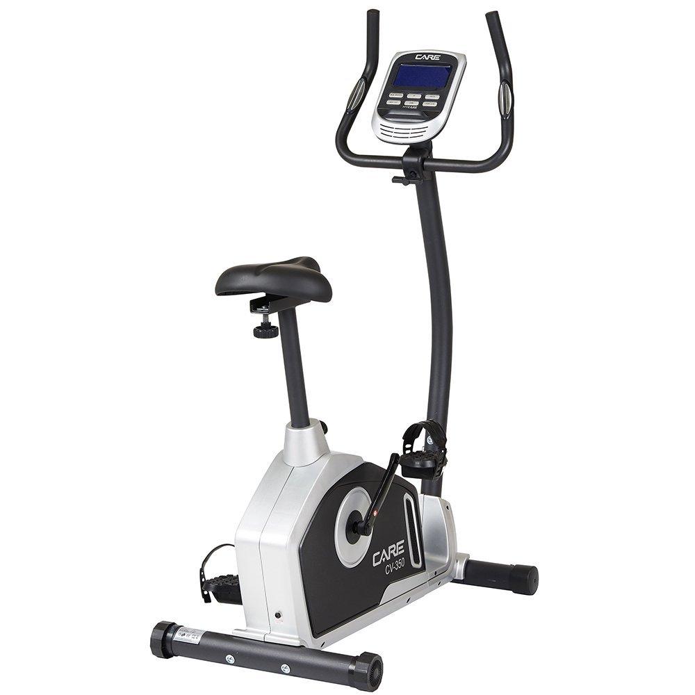Bike Fitness CV-350 von CareFitness   24 Programme   Ergometerfunktion   Taktile Herzfrequenzsensoren