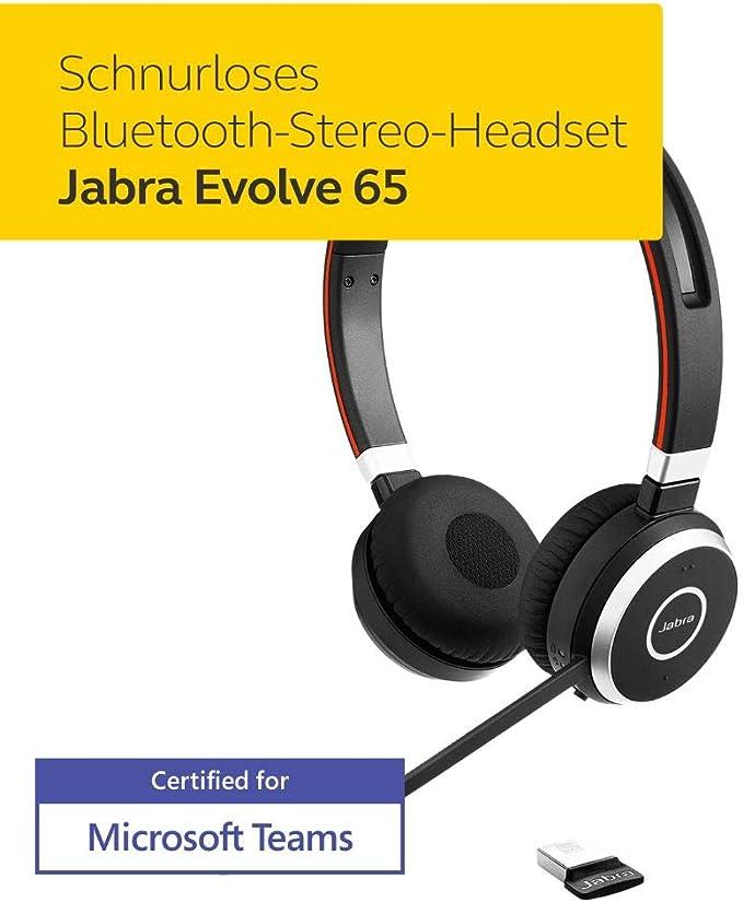 Jabra Evolve 65 Earphones Elektronik