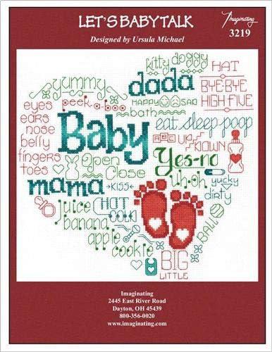 Lets Baby Talk Chart 3219 Cross Stitch Chart