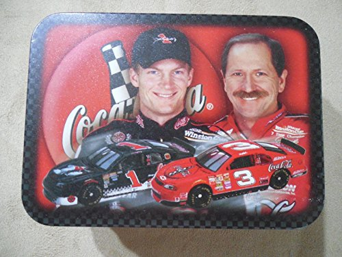 - NASCAR Dale Earnhardt Jr #1 Polar Bear Cola & Dale Earnhardt Sr #3 Red Coca Cola 1998 Monte Carlo 1/64 Scale 1st Head to Head Race with Dale Jr Motegi Japan in Collectors Tin with COA