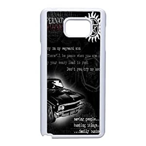 Samsung Galaxy Note 5 Cell Phone Case White Supernatural F6703820