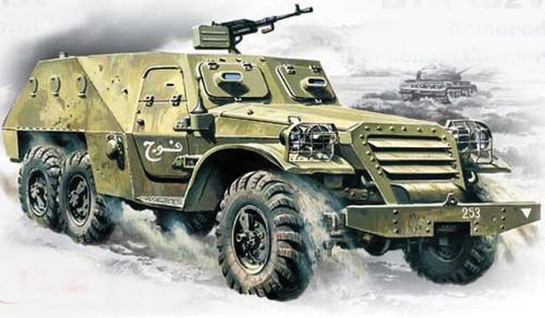ICM Models BTR-152V Armored Personnel Carrier Building Kit (Armored Personnel Carrier Kit)