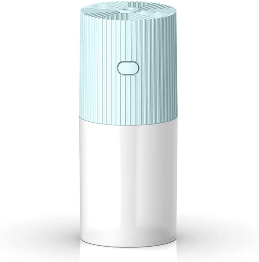 USB Portable Humidifier, Small Cool Mist Humidifier with Night Light, Desktop Humidifier for Baby Bedroom Travel Office Home, 2 Mist Modes, Super Quiet