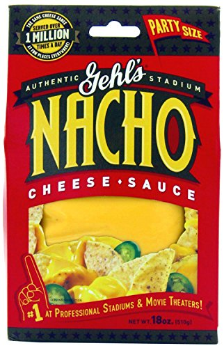 Gehl's Authentic Stadium Nacho Cheese Sauce (Pack of 3) 18 oz Boxes (Gehls Nacho Cheese Sauce compare prices)