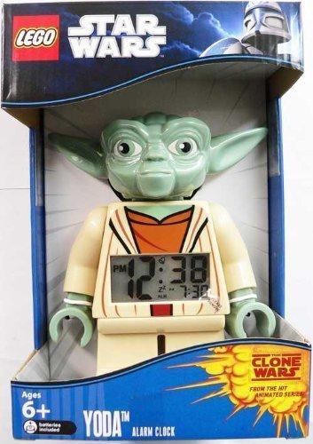LEGO Unisex Star Wars Yoda Mini-Figure Alarm Clock]()