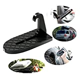 Adealink Vehicle Hooked U Shaped Slam Latch Doorstep with Saftey Hammer Function Rooftop for Car Jeep SUV
