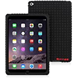 Snugg iPad Air 2 Silicone Case - Protective, Non-Slip Silicone Case With Lifetime Guarantee (Black) For Apple iPad Air 2