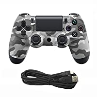 Etbotu Game Controller for PS4 Console USB Wired Connection Gamepad