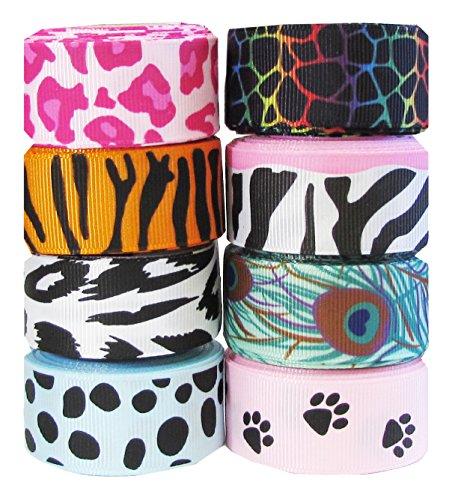 Animal Print Ribbon (Hipgirl 7/8