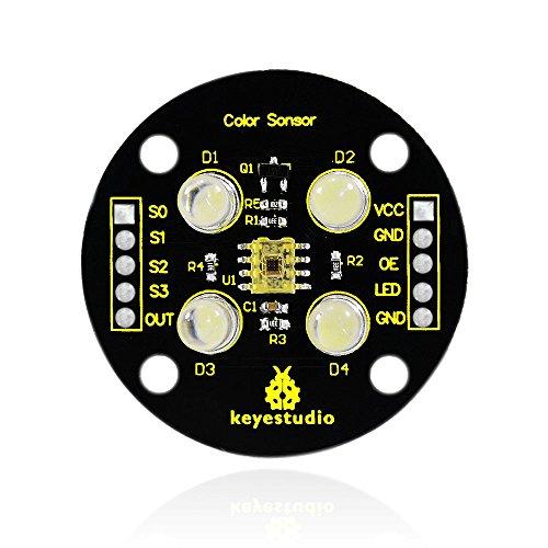 Keyestudio Color Recognizing Sensor for Arduino UNO&MEGA/raspberry pi/AVR/STM32