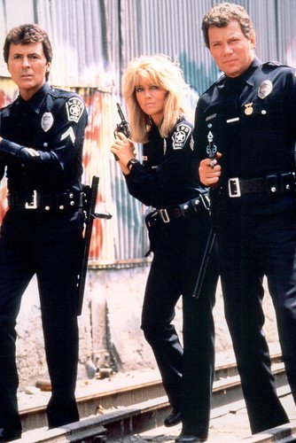 tj-hooker-william-shatner-heather-locklear-james-darren-full-length-with-guns-drawn-tv-24x36-poster
