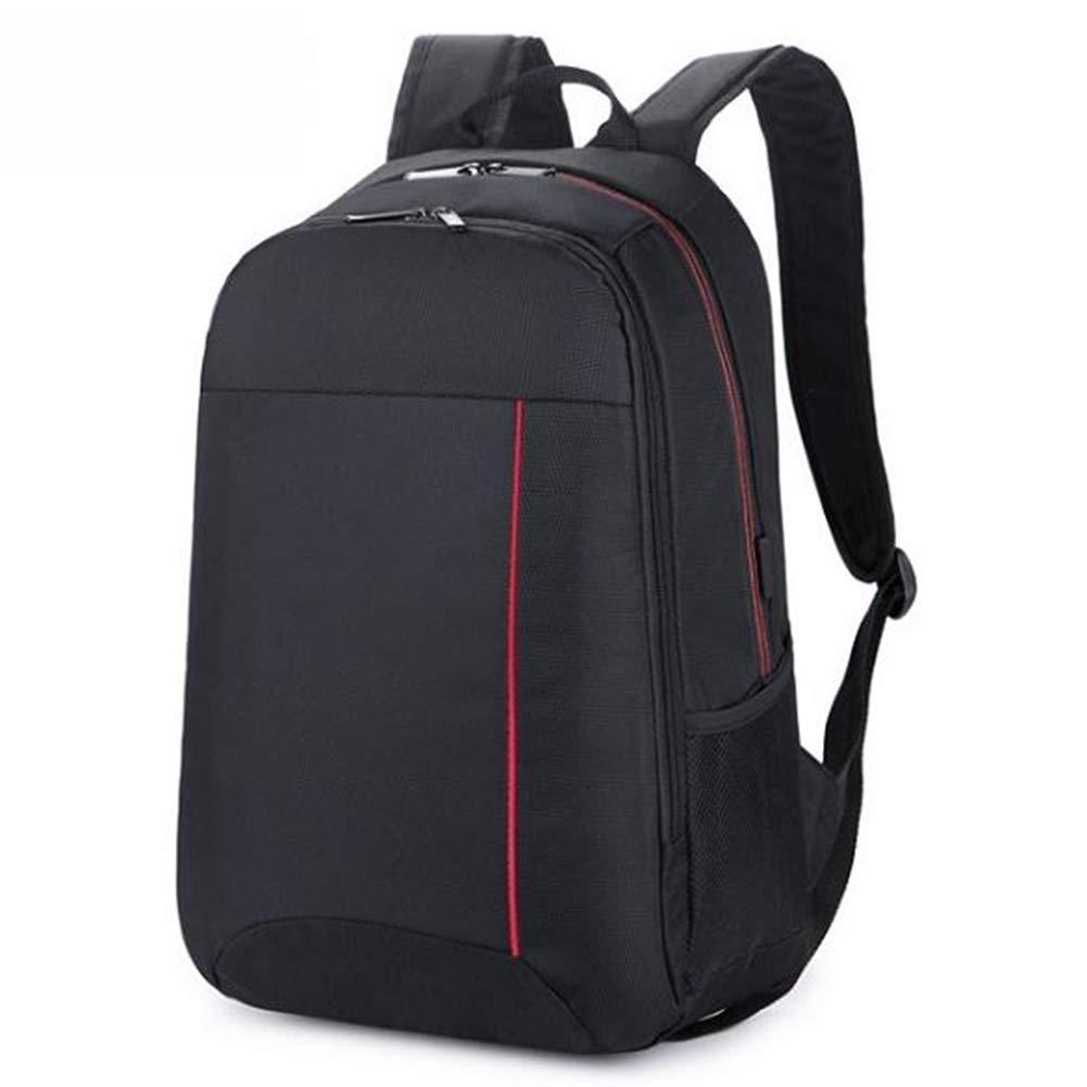 メンズバックパック - ビジネストラベルバッグ - ノートパソコンバッグ ブラック/グレー 43cm*30cm*14cm ブラック 43cm*30cm*14cm ブラック B07MT3TJN8