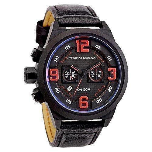 pagani-design-mens-fashion-multi-function-black-leather-band-quartz-sports-wrist-watch