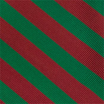 and Silk Stripes red in Pocket green Men's Square Notch q0RCq