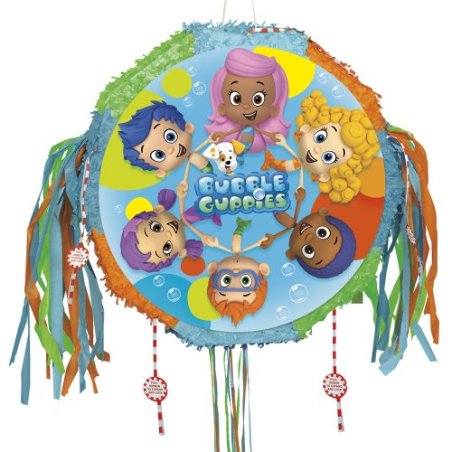 Bubble Guppies Pinata, Pull String -