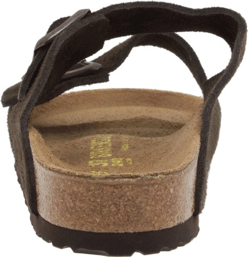 Birkenstock Unisex Arizona Sandal,Mocha Suede,46 N EU