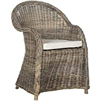 Safavieh Home Collection Zane Natural Wicker Club Chair